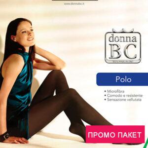 промо пакет микрофибърен чорапогащник Поло 50ДЕН Дона БЦ
