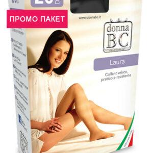 промо пакет чорапогащник Лаура 20ДЕН Донна БЦ